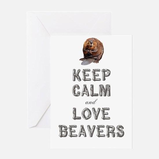 Wood Badge Beaver Greeting Card