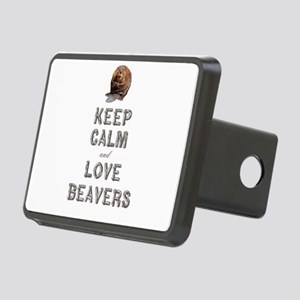 Wood Badge Beaver Rectangular Hitch Cover
