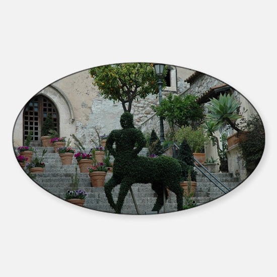 Centaur-Sorrento Sticker (Oval)