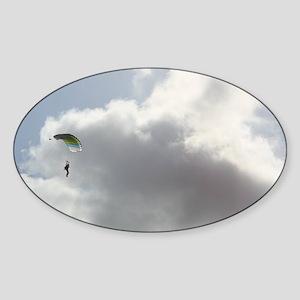 Skydive2 Sticker (Oval)