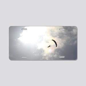 Skydiver4 Aluminum License Plate