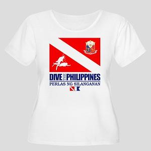 Dive The Philippines Plus Size T-Shirt