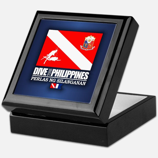 Dive The Philippines Keepsake Box