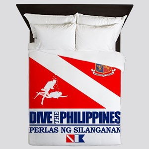 Dive The Philippines Queen Duvet