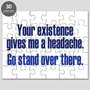 Headache Existence Puzzle