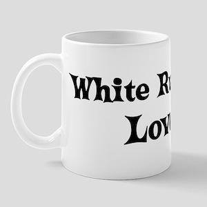 White Russian lover Mug