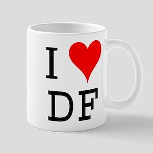I Love DF Mug