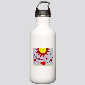 Welcome Home Stainless Water Bottle 1.0L