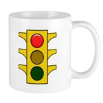 Right-hand Green Mood Signal Mug