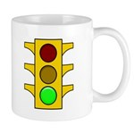 Right-hand Red Mood Signal Mug