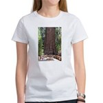 General Sherman Sequoia with Girls Women's T-Shirt
