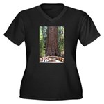 General Sherman Sequoia with Girls Women's Plus Si