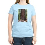 General Sherman Sequoia with Girls Women's Light T