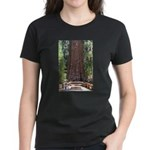 General Sherman Sequoia with Girls Women's Dark T-