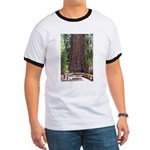 General Sherman Sequoia with Girls Ringer T