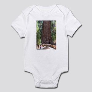 General Sherman Sequoia with Girls Infant Bodysuit