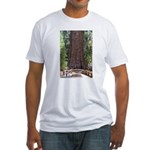 General Sherman Sequoia with Girls Fitted T-Shirt