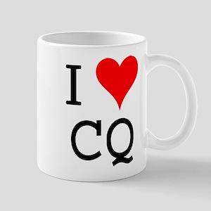 I Love CQ Mug