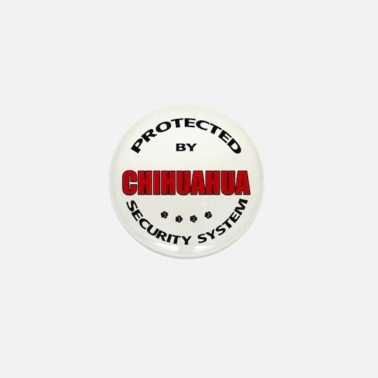Chihuahua Security Mini Button