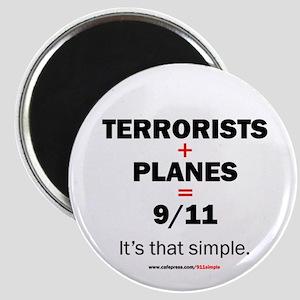 Terrorists+planes=9/11: Magnet