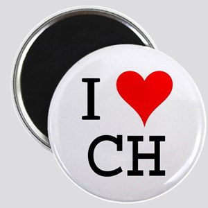 I Love CH Magnet