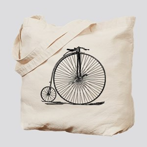 Vintage Penny Farthing Bicycle Tote Bag