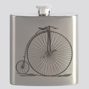 Vintage Penny Farthing Bicycle Flask