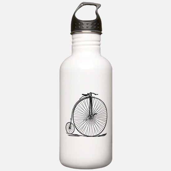 Vintage Penny Farthing Bicycle Water Bottle
