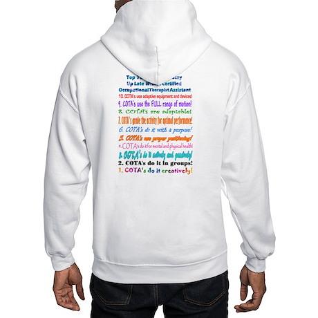 Up Late COTA Hooded Sweatshirt