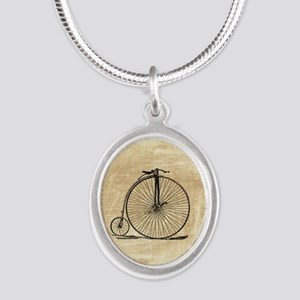 Vintage Penny Farthing Bicycle Necklaces