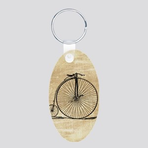 Vintage Penny Farthing Bicycle Keychains