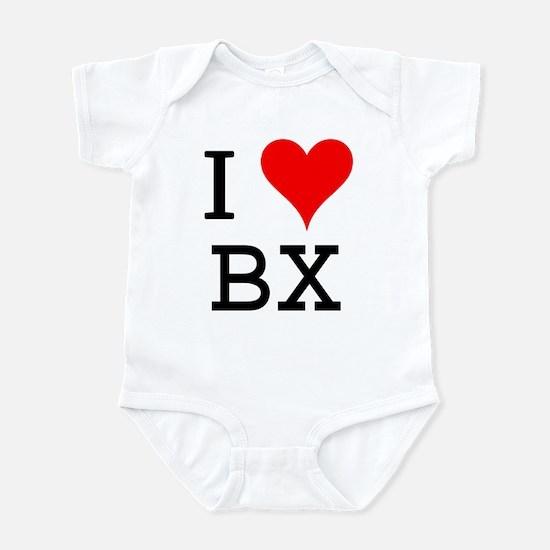 I Love BX Infant Bodysuit