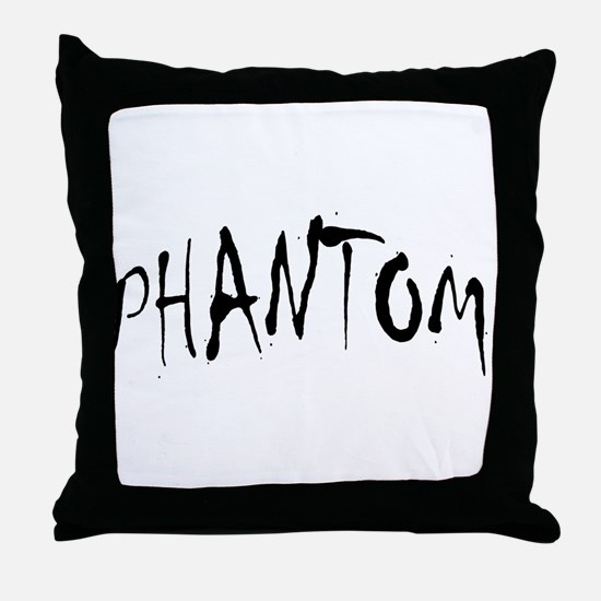Phantom Halloween Throw Pillow