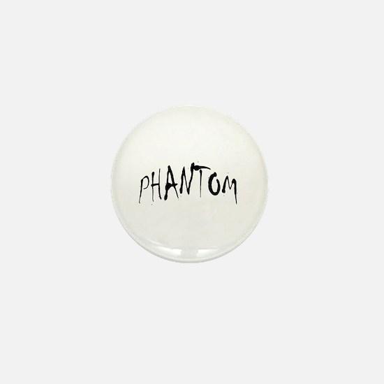 Phantom Halloween Mini Button