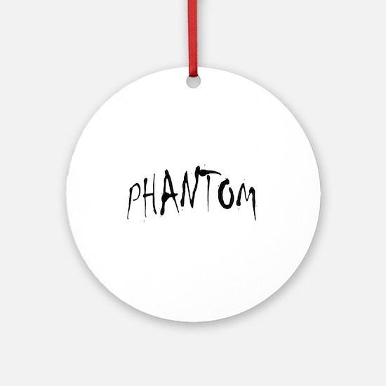 Phantom Halloween Ornament (Round)