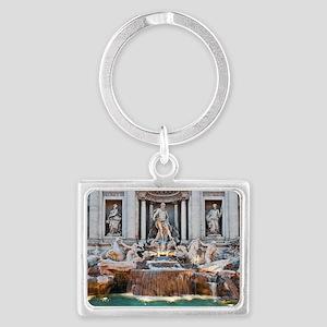 Trevi Fountain Landscape Keychain