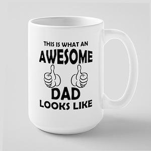 Awesome Dad Looks Like Mugs