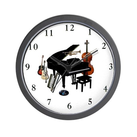 Instruments Wall Clock