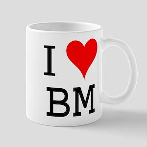 I Love BM Mug