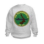 USS HAMMERHEAD Kids Sweatshirt