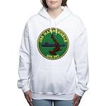 USS HAMMERHEAD Women's Hooded Sweatshirt