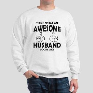 Awesome Husband Looks Like Sweatshirt