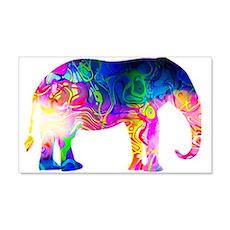 Cool spaghetti Elephant Wall Decal