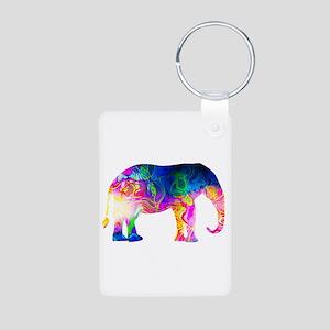 Cool spaghetti Elephant Keychains