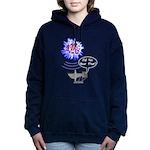 Echo Of Big Bang Women's Hooded Sweatshirt