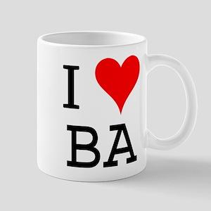 I Love BA Mug