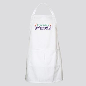 My Big Sister is Awesome BBQ Apron