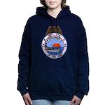 USS HAMNER Women's Hooded Sweatshirt