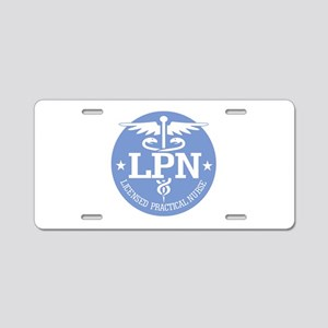 Caduceus LPN Aluminum License Plate