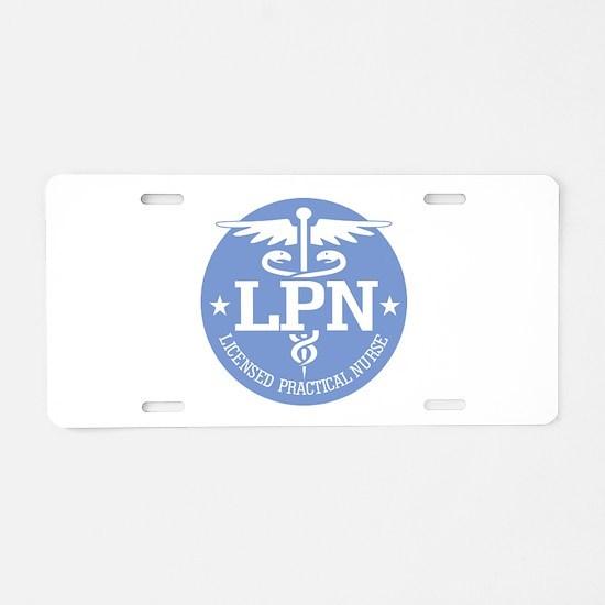 Caduceus LPN Aluminum License Plate